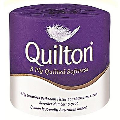 Quilton Toilet Tissue - 3 Ply