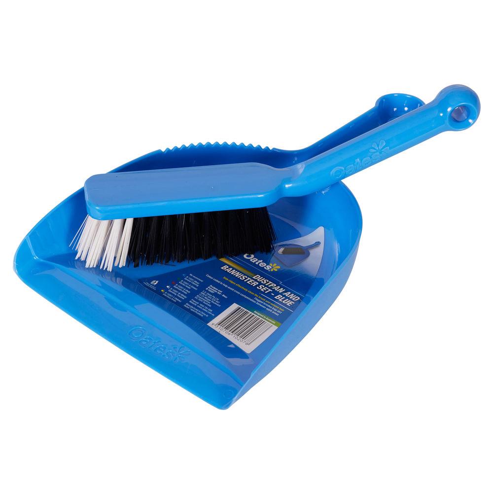 Dustpan & Bannister Set - Blue