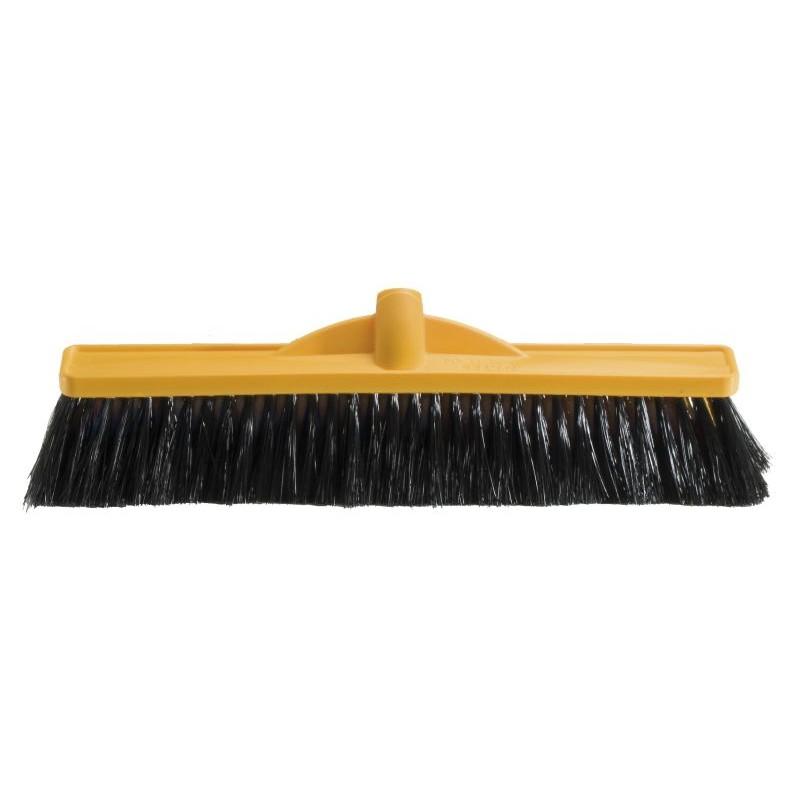 Medium Stiff Poly Broom - 450mm