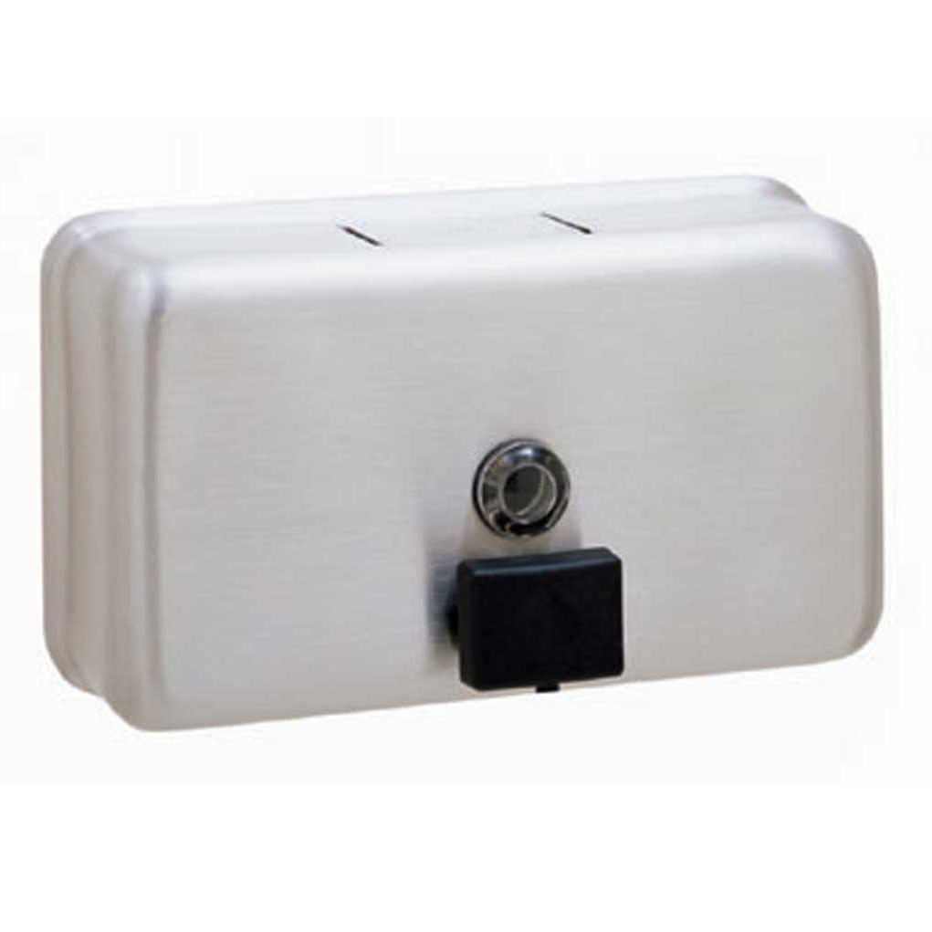 Surface-Mounted Horizontal Soap Dispenser