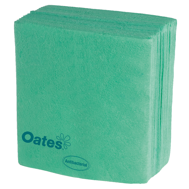 Super Industrial Wipes - 30 x 40cm Pack 10 - Green