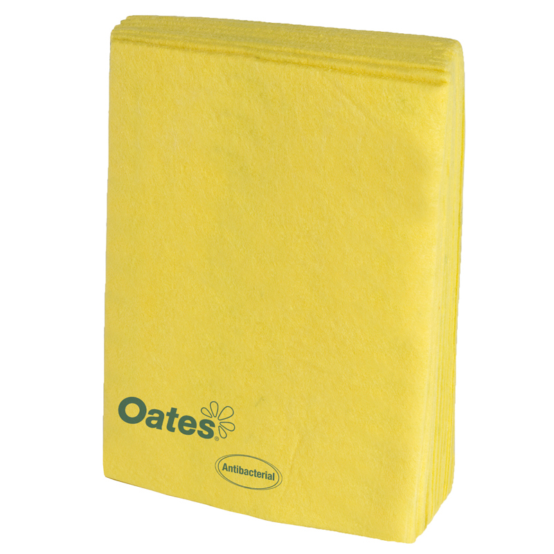 Super Industrial Wipes - 30 x 40cm Pack 10 - Yellow