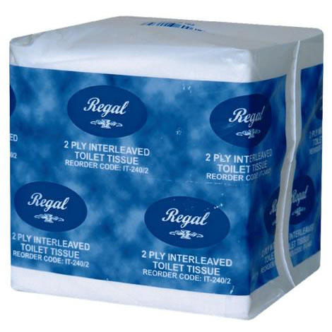 Regal Interleaved - 2 Ply Recycled