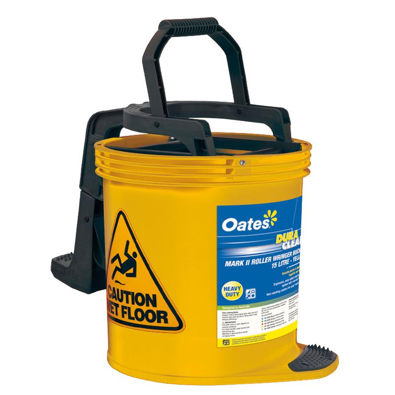 Contractor Yellow Roller Winger Bucket - 15L