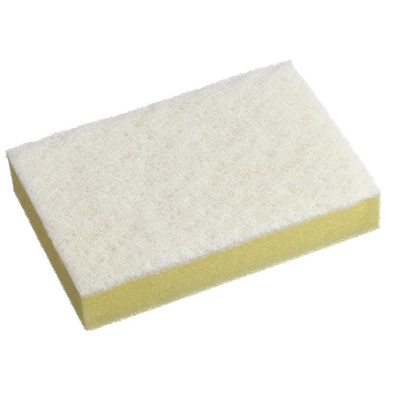 Scour & Sponge Pack - White